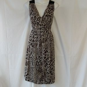 Robert Rodriguez animal print dress sz 6